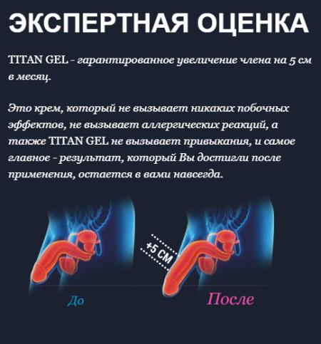 титан гель для мужчин аптека